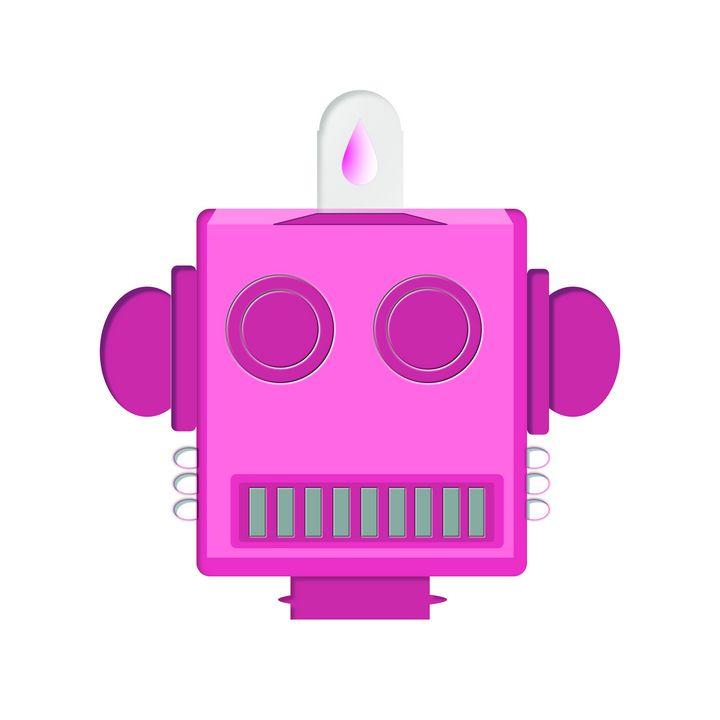 Head Bot CNDY PINK#6 - damani damani