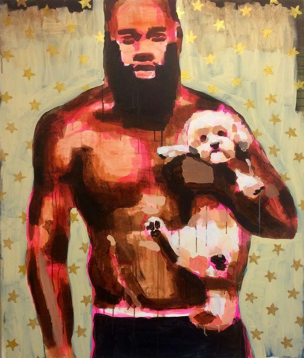 Man with dog - Tereza Strnad