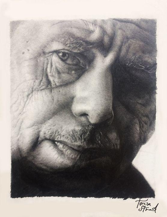 Portrait of Václav Havel - Tereza Strnad