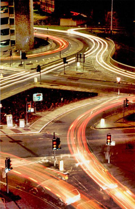 Leeds light trails - TerryficArt