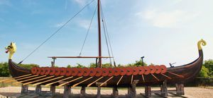 The Hugin, Vicking Long Boat
