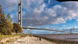 The Humber Bridge Kingston upon Hull