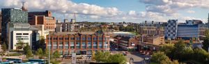 Leeds City Skyline, The view North