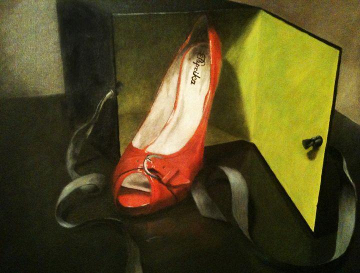 Red Shoe - Studio Pallet