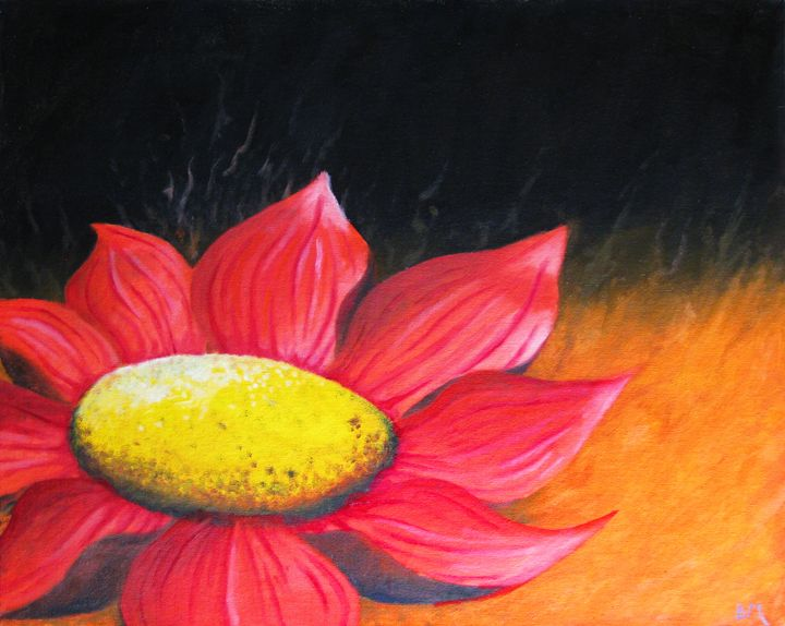 Abstract Flower - Studio Pallet