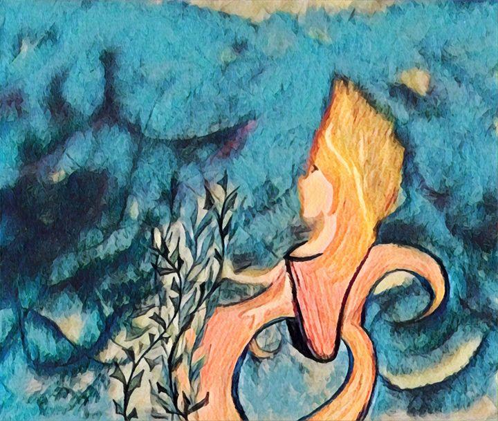 Mermaid In A Wheelchair - C.Finn