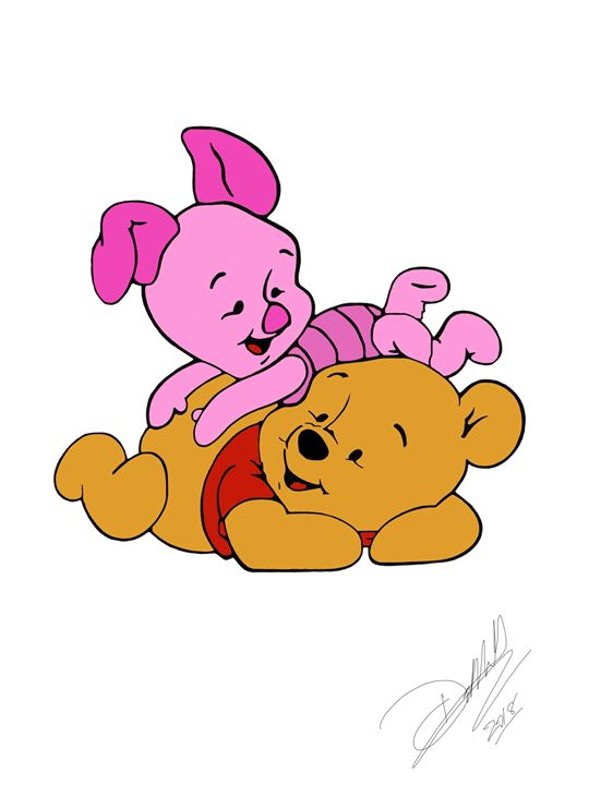 Winnie and piglet - D.M arts