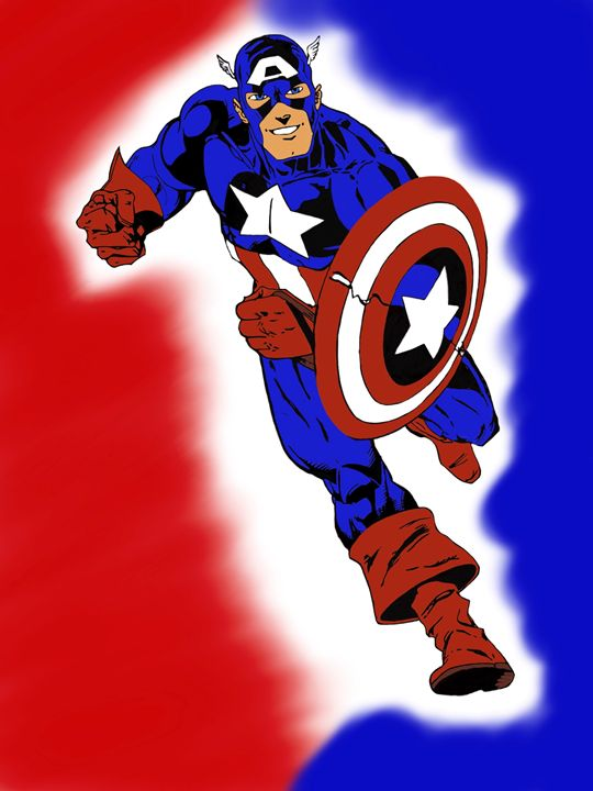 Captain America - D.M arts