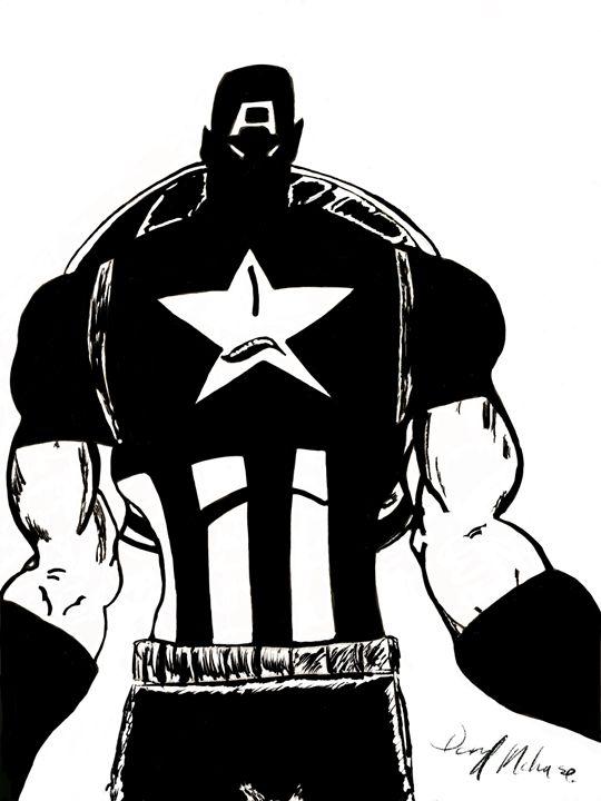 Captain America - D.M arts