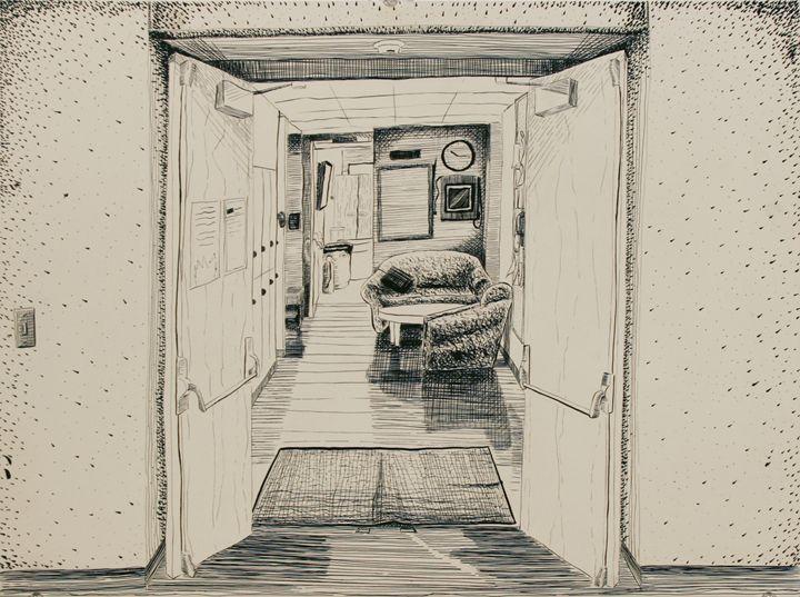 Playfull Hallway - Kenan Meyers (InkdKen)