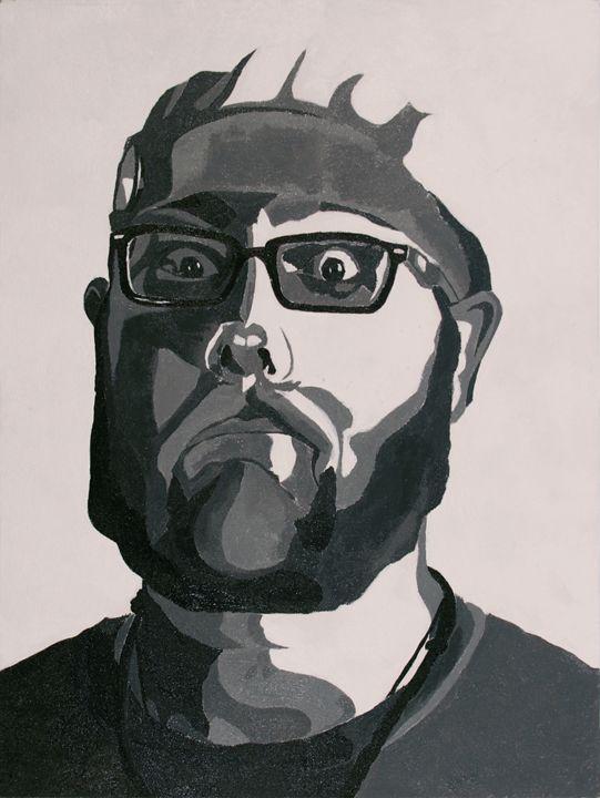 Self Portrait - Kenan Meyers (InkdKen)