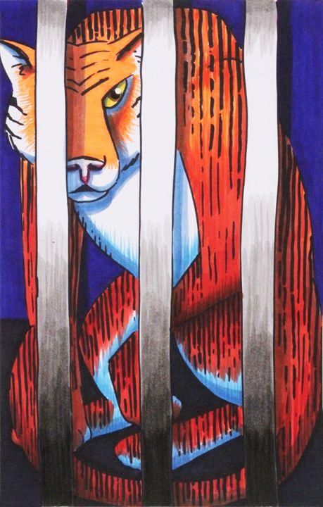 Caged Animal Redux - Kenan Meyers (InkdKen)