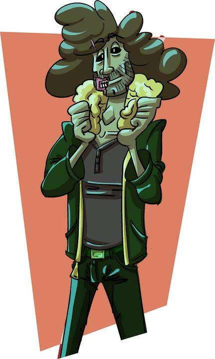 Zombie Dan - Kenan Meyers (InkdKen)