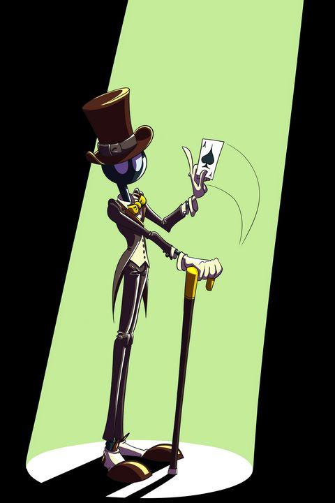 Magician - Kenan Meyers (InkdKen)