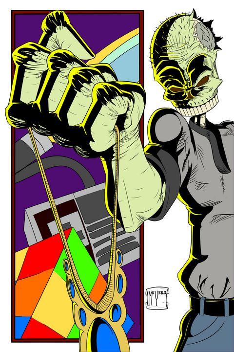Zomboy in McFarlane's Stlye - Kenan Meyers (InkdKen)