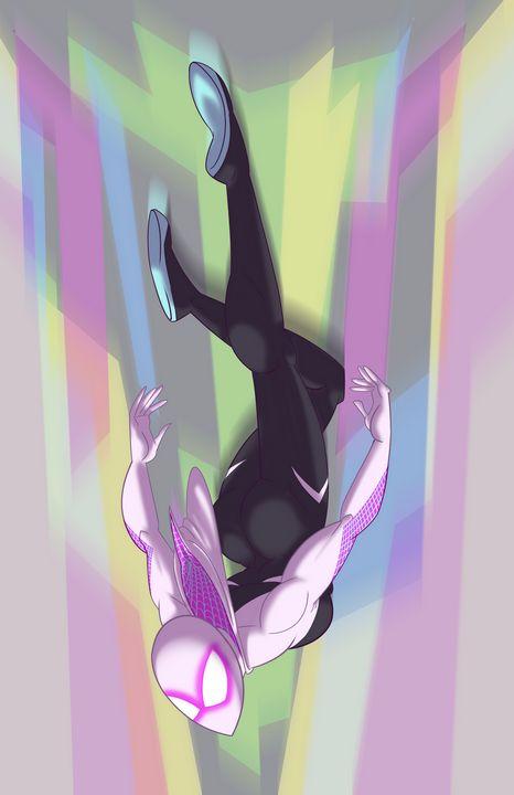 Gwen Diving - Kenan Meyers (InkdKen)