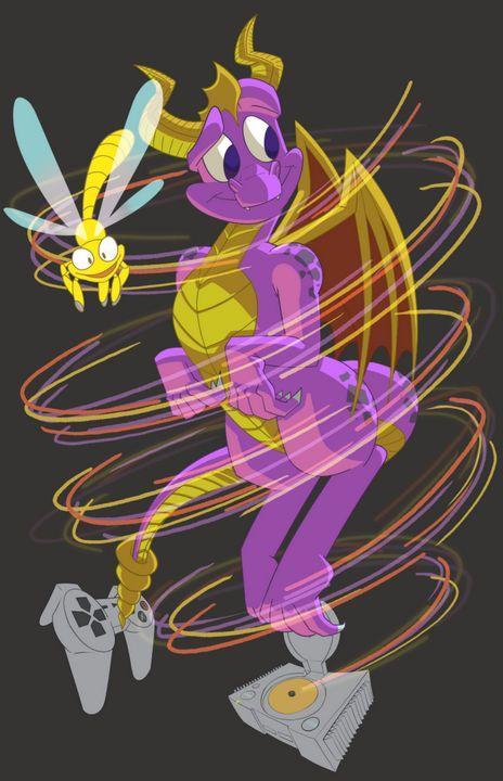 Spyro Spiral - Kenan Meyers (InkdKen)