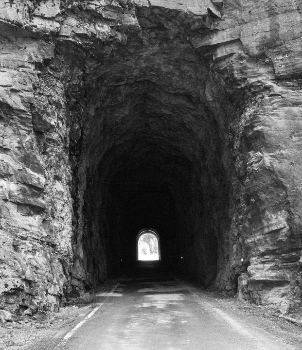 Rocky Mountain Tunnel - Passing Moments Captured