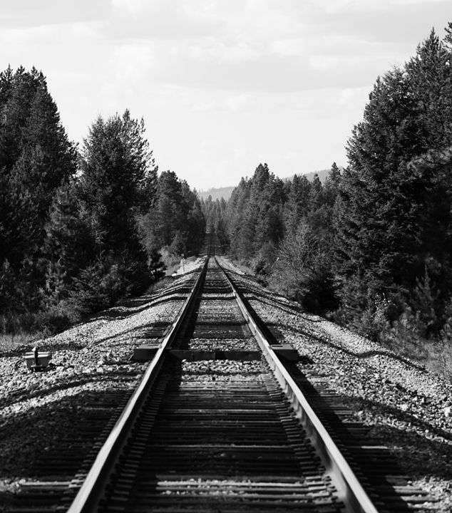 Railroad to No Where - Passing Moments Captured