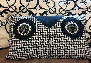 Preppy Owl Pillow