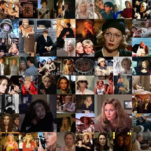 Faye Dunaway Career Collage