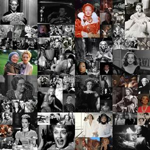 Bette Davis Career Collage