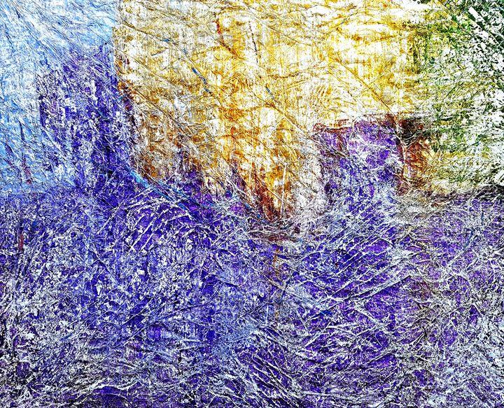 Violet cityscape (n.232) - Alessio Mazzarulli