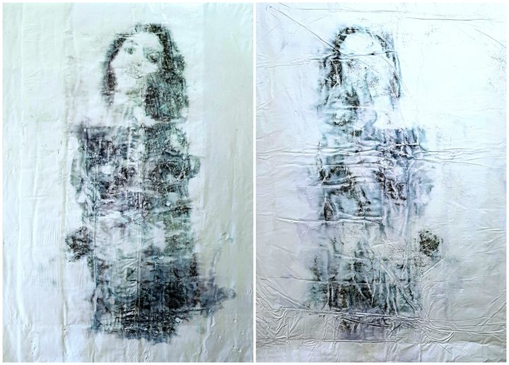 Twin sisters -02- (n.421) - diptych - Alessio Mazzarulli