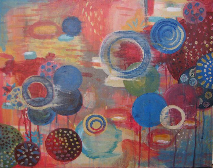 Circular Ascension - Shannon's Vibrant Art