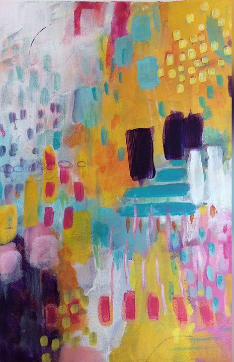 Floating in Sunshine - Shannon's Vibrant Art
