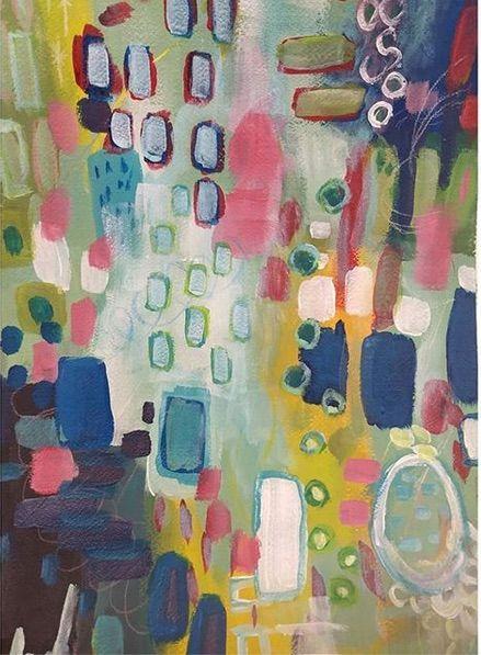 Blue Haze - Shannon's Vibrant Art