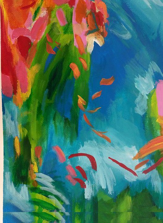 Goldfish Island - Shannon's Vibrant Art
