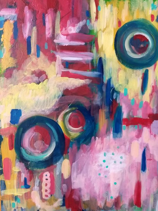 Follow Your Bliss - Large - Shannon's Vibrant Art