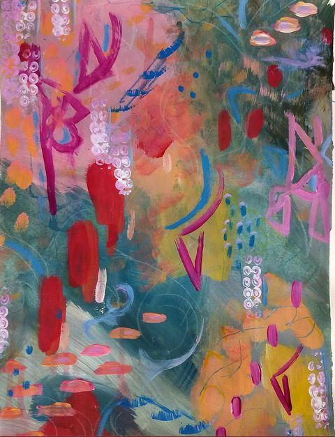 Alien Music - Shannon's Vibrant Art