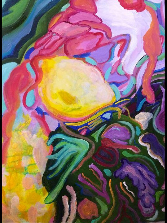 Lemon Lizard - Shannon's Vibrant Art