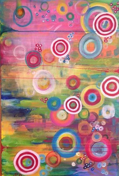 Electric Bubbles - Shannon's Vibrant Art