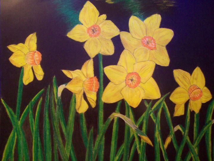 Daffodils - Melissa Pearson