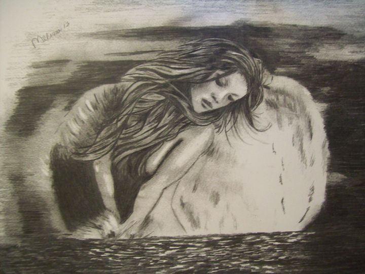 Angel in heavenly water. - Melissa Pearson