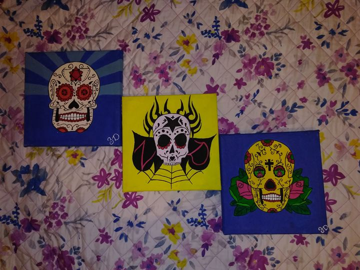 Skull Trio - Ryan Dixon