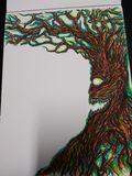 Hellish tree stationery