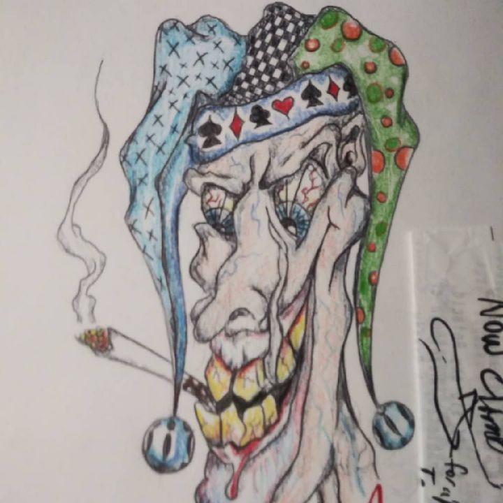 Joker smoker - MP Creations