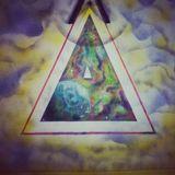 Galaxy in a triangle