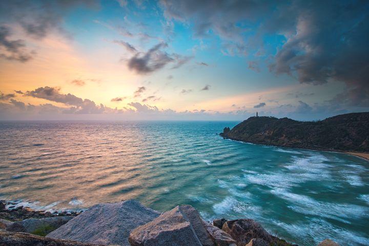 The first sunrise in Vietnam - Vu Dzung