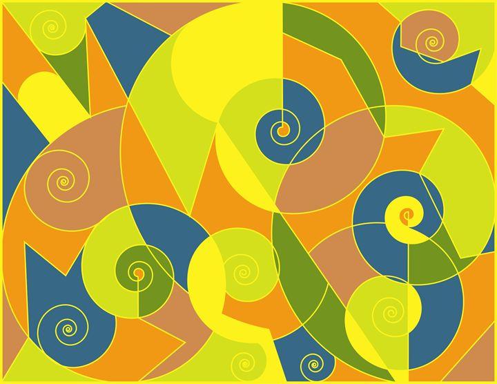 abstract spirals - Jon Gogh