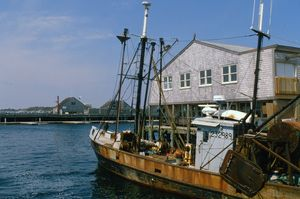 Fishing Boat, Mystic, CT