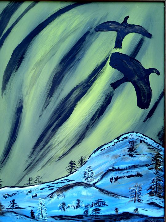 Northern Lights - Original Works by Colleen Hennessy