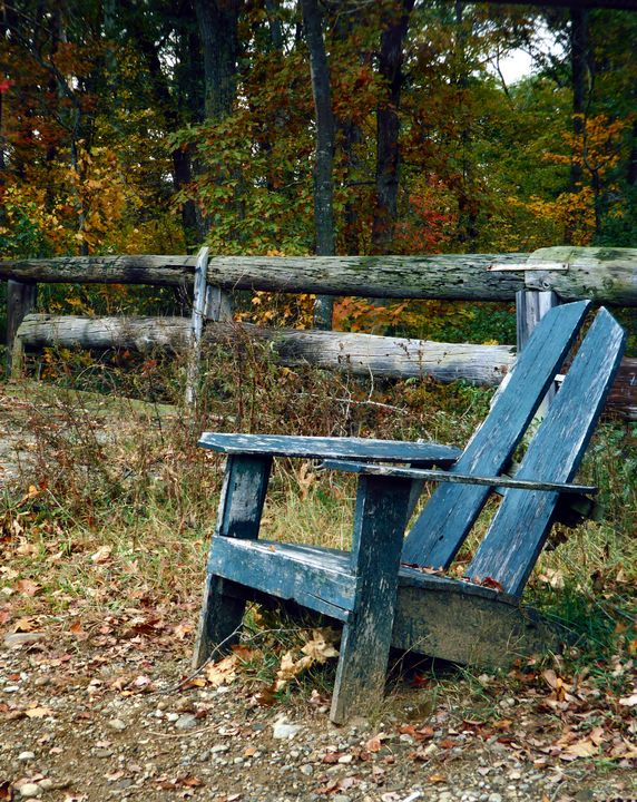 Adirondack Chair - Original Works by Colleen Hennessy