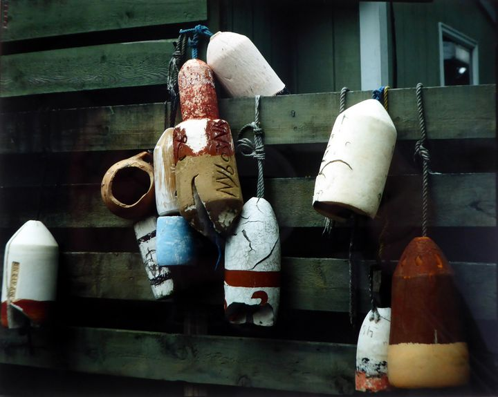 Buoys, Eastern Connecticut - Original Works by Colleen Hennessy
