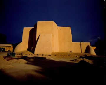 Ranchos de Taos Church - Original Works by Colleen Hennessy