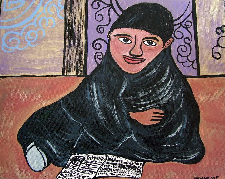 Young Monk - Original Works by Colleen Hennessy